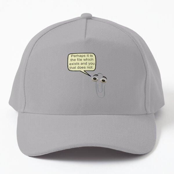 Microsoft Clippy philosophy Baseball Cap