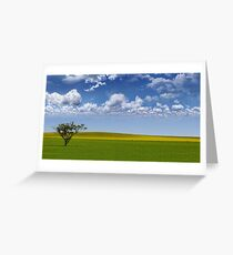 Crops Greeting Card
