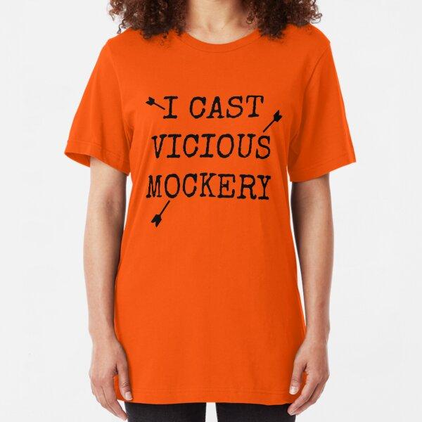 Vicious Mockery Slim Fit T-Shirt