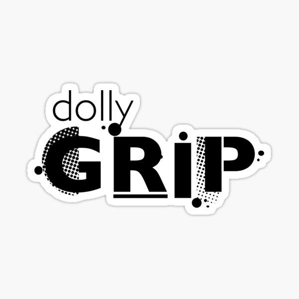Film Crew. Dolly Grip. Sticker