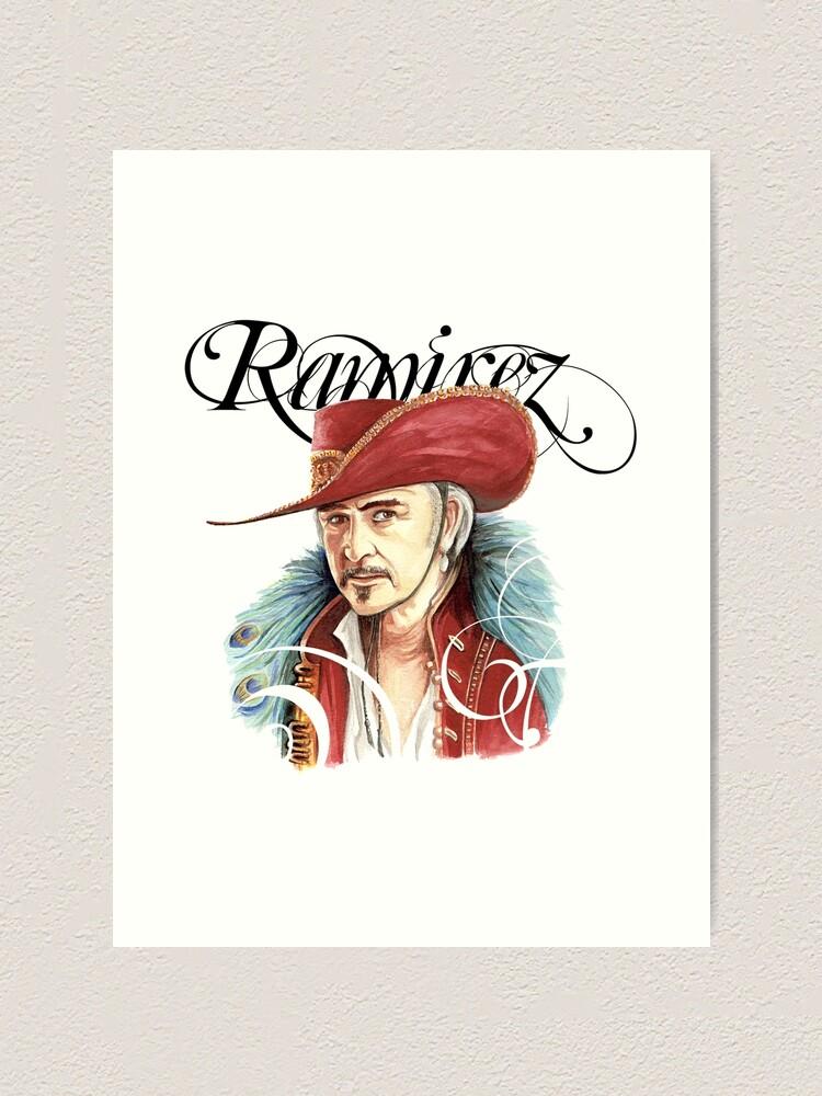 Alternate view of Ramirez Watercolour Art Print