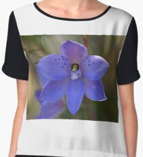 Dotted sun orchid .. Thelymitra ixioides Women's Chiffon Top