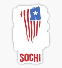 Sochi Flag Sticker
