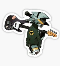 FLCL Guitar Sticker