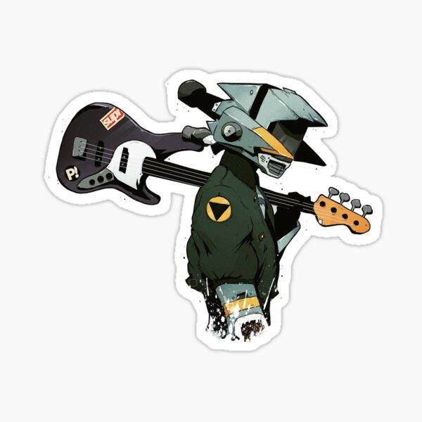 Guitarra FLCL Pegatina