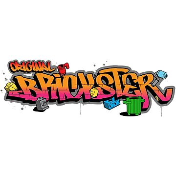 Original Brickster - Graffiti Version by futuristicvlad