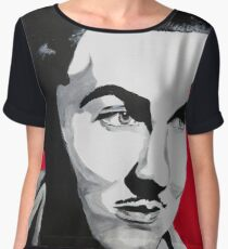 Ed Wood  Chiffon Top