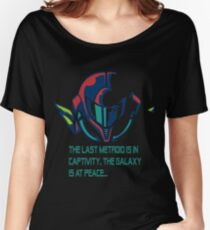 SUPER METROID DEBRIEFING Women's Relaxed Fit T-Shirt