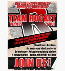 Pokemon - Team Rocket Recruitment Poster