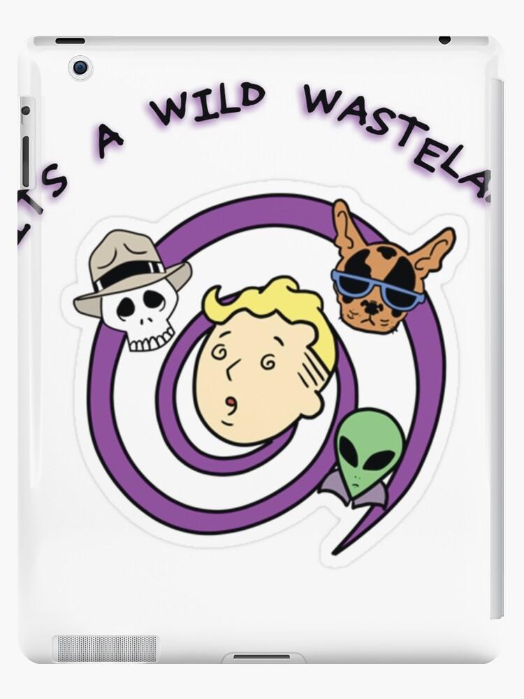 Wild Wasteland Perk Colored iphone case