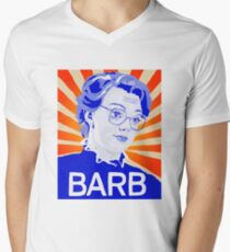 Im With Barb Men's V-Neck T-Shirt