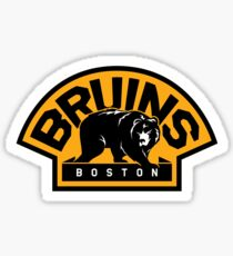 BOSTON BRUINS HOCKEY Sticker