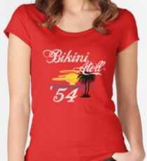 Bikini Atoll Women's Fitted Scoop T-Shirt