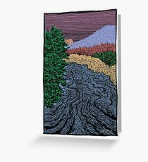 South Upper Truckee River Greeting Card