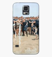 Smile for the camera!! Atlantic City, 1905 Case/Skin for Samsung Galaxy