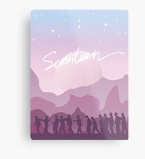 Dawn of Seventeen Metal Print