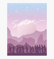 Dawn of Seventeen Photographic Print