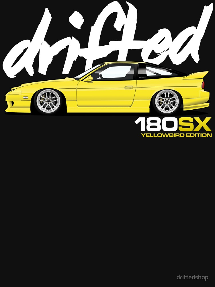 Drifted 180sx Tee - Yellowbird Edition by Drifted by driftedshop