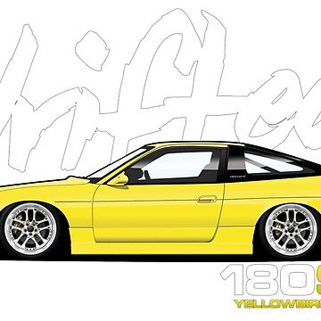 Drifted 180sx Tee - Yellowbird Edition by Drifted by driftedshop