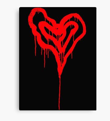 Twin Bleeding Hearts Canvas Print