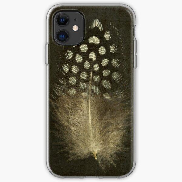Guinea Fowl Feather iPhone Soft Case
