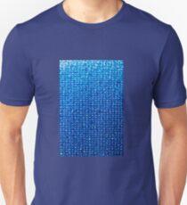 Aqua background, Oil painting T-Shirt