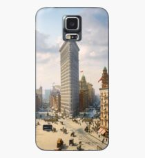 Flat Iron in New York City, ca 1903 colorized Case/Skin for Samsung Galaxy