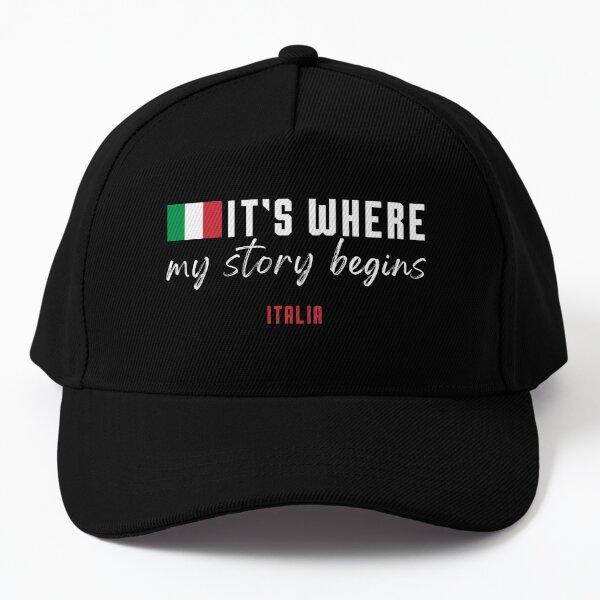 Where my story begins, Italia Baseball Cap