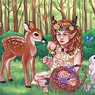 Little Forest Princess by storybrush studios