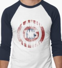 I can do this all day. shield Men's Baseball ¾ T-Shirt
