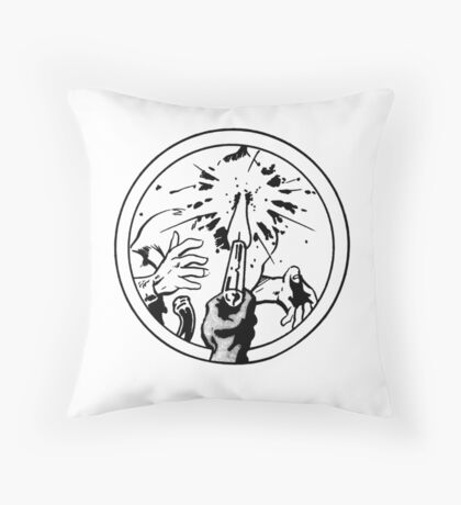 to the face Throw Pillow