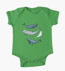 Whales are everywhere One Piece - Short Sleeve