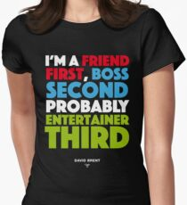 David Brent - Entertainer Womens Fitted T-Shirt