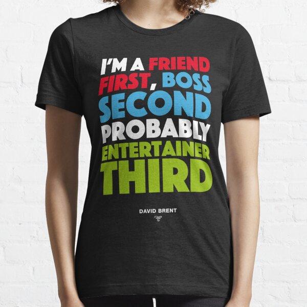 David Brent - Entertainer Essential T-Shirt
