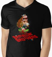 Brawling Brothers - ManBearPig Men's V-Neck T-Shirt