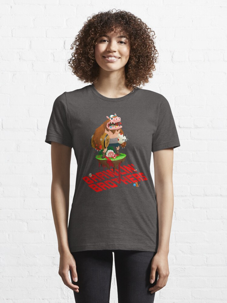 Alternate view of Brawling Brothers - ManBearPig Essential T-Shirt