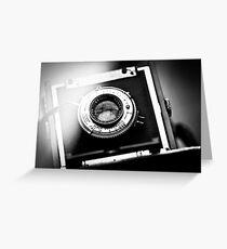 Camera Greeting Card