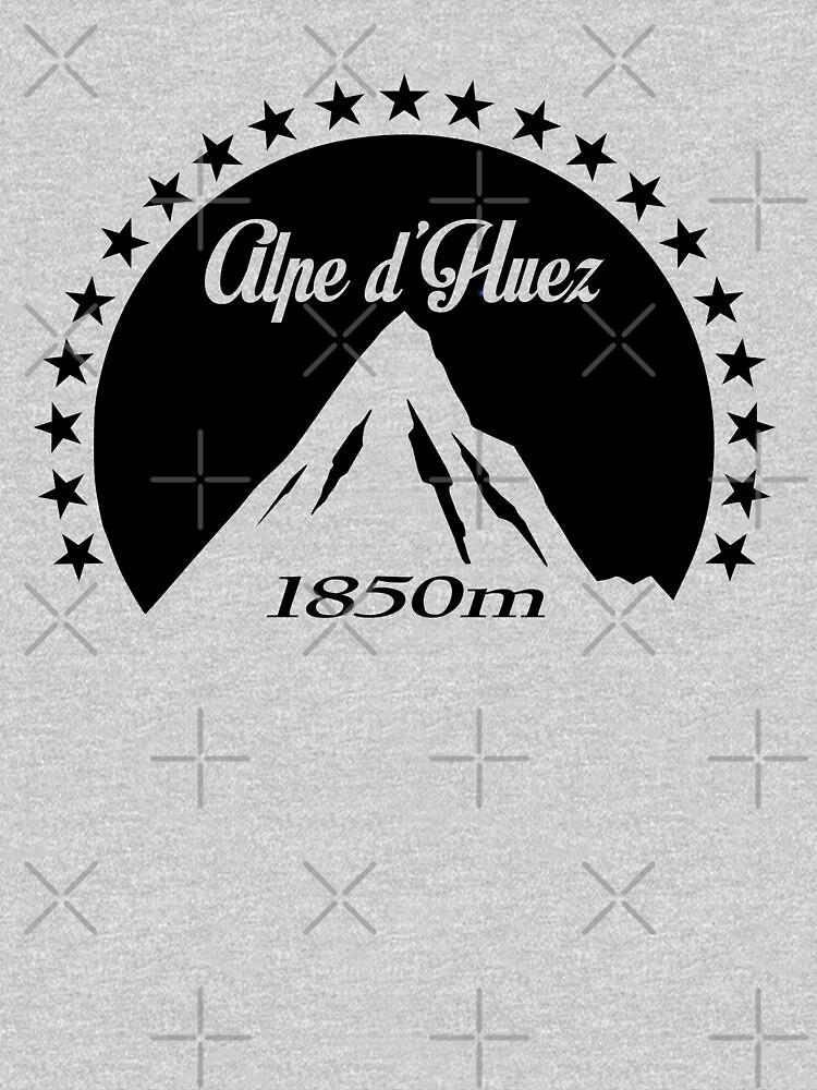 Alpe d'Huez (Black) | Unisex T-Shirt