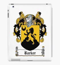 Barker  iPad Case/Skin