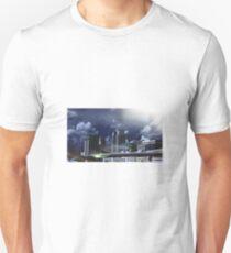 Black and White Downtown Orlando Unisex T-Shirt