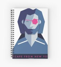 Escape from New York (1981) 80s Sticker Spiral Notebook