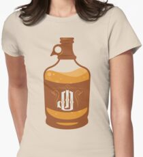 jalapeno outlaw XXX JUG Women's Fitted T-Shirt