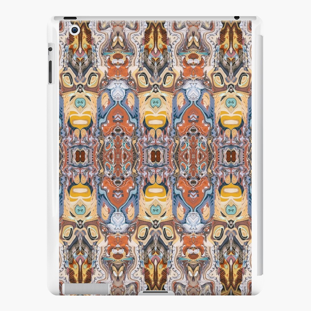 Abstract Tribal Pattern iPad Cases & Skins