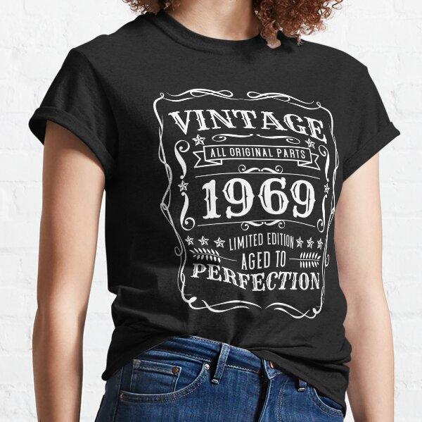 Vintage 1969 All Original Parts - 52nd Birthday Classic T-Shirt