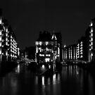 The Bridges.....Speicherstadt Hamburg.....Reflections by Imi Koetz