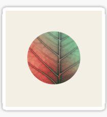 Leaf In Vein Sticker