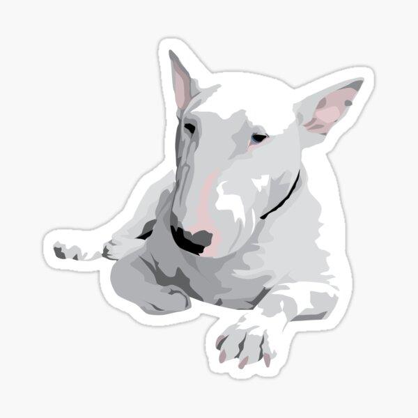 Inglés Bull terrier Pegatina