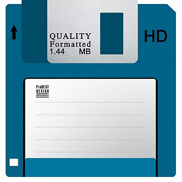 Floppy Disk Blue by ProBEST