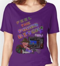 Freddy Power Glove! (FeeL The Power) (Alternate) Women's Relaxed Fit T-Shirt