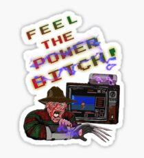 Freddy Power Glove! (FeeL The Power) (Alternate) Sticker